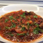 Chili con carne-ish med koteletter